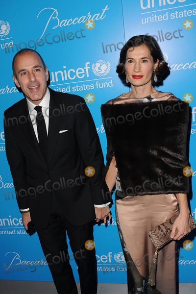 Annette Lauer Photo - November 27 2012 New York City Matt Lauer and Annette Lauer attend the Unicef Snowflake Ball at Cipriani 42nd Street on November 27 2012 in New York City