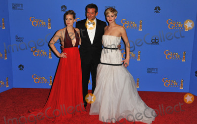 Photo - 71st Golden Globes press room
