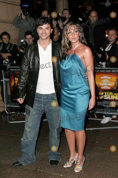 Andy Scott-Lee Photo - LONDON NOVEMBER 2 2004    Andy Scott Lee and Michelle Heaton from Liberty X at the After The Sunset world premiere