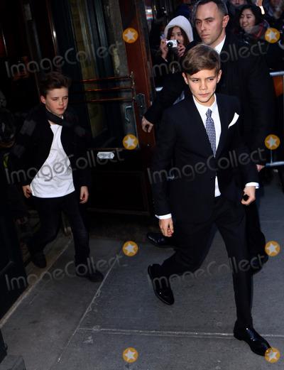 Romeo Beckham Photo - February 14 2016 New York CityCruz Beckham (L) and Romeo Beckham leaving Balthazar restaurant on February 14 2016 in New York CityBy Line Zelig ShaulACE PicturesACE Pictures Inctel 646 769 0430