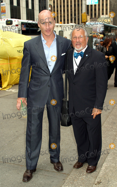 Stan Herman Photo - Council of Fashion Designers of America Executive Director Peter Arnold and Stan Herman arrives at Bryant Park for Carolina Herrera show during New York Fashion Week New York September 18 2002