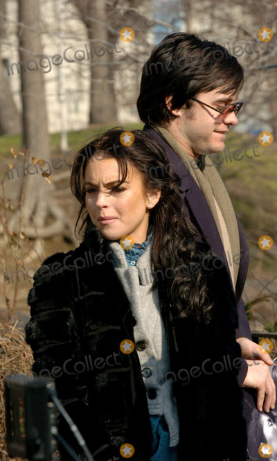 Photo - LINDSAY LOHAN AND JARED LETO ON LOCATION FOR CHAPTER 27