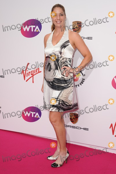 Alisa Kleybanova Photo - Alisa Kleybanova arrives for the WTA Pre-Wimbledon Party 2014 at the Kensington Roof Gardens London 19062014 Picture by Steve Vas  Featureflash