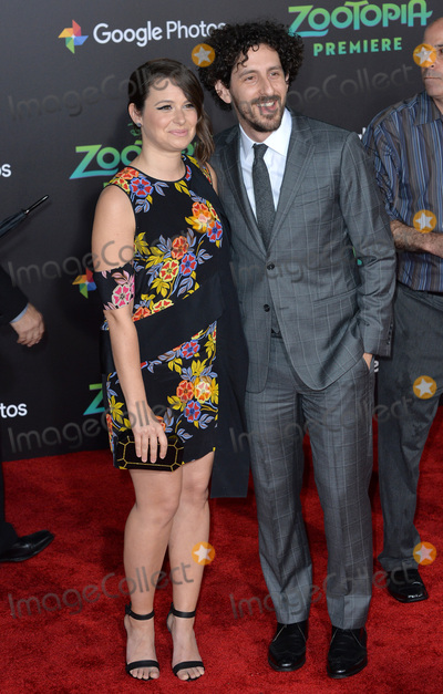 Adam Shapiro Photo - Actress Katie Lowes  husband actor Adam Shapiro at the premiere of Disneys Zootopia at the El Capitan Theatre HollywoodFebruary 17 2016  Los Angeles CAPicture Paul Smith  Featureflash