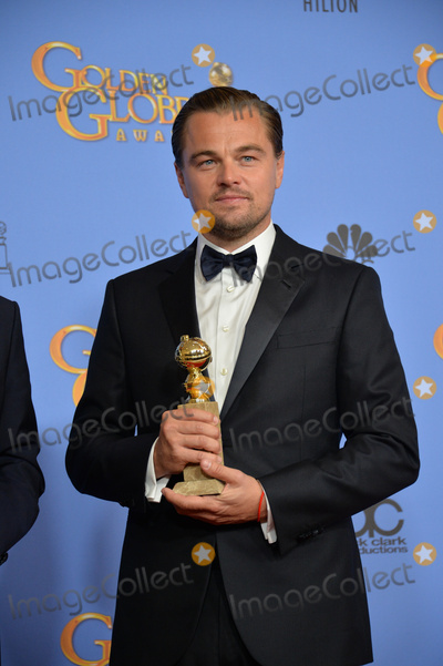 Photo - Leonardo DiCaprio at the 73rd Annual Golden Globe Awards at the Beverly Hilton HotelJanuary 10 2016  Beverly Hills CAPicture Paul Smith  Featureflash