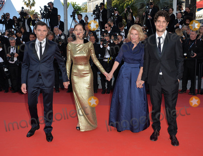Louis Garrel Photo - Director Nicole Garcia  actors Alex Brendemuhl Marion Cotillard  Louis Garrel at the gala premiere of From the Land of the Moon (Mal de Pierres) at the 69th Festival de CannesMay 15 2016  Cannes FrancePicture Paul Smith  Featureflash