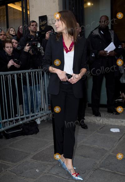 Ana Girardot Photo - Ana Girardot arrives at the Jean Paul Gaultier Haute Couture Spring Summer 2016 show as part of Paris Fashion WeekJanuary 27 2016 Paris FrancePicture Kristina Afanasyeva  Featureflash