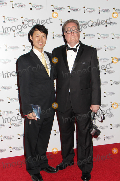 Andy Chen Photo - Andy Chen  John Follmer 01282014 2014 International 3D and Advanced Imaging Society Creative Arts Awards held at Warner Bros Studio Burbank CA Photo by Denzel John  HollywoodNewsWirenet