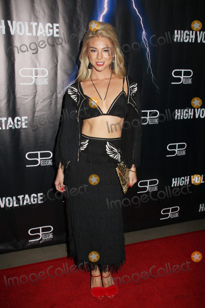 Allie Gonino Photo - Allie Gonino 10162018 The Los Angeles premiere of High Voltage held at TCL Chinese Theatre in Hollywood CA Photo by Hiro Katoh  HollywoodNewsWireco