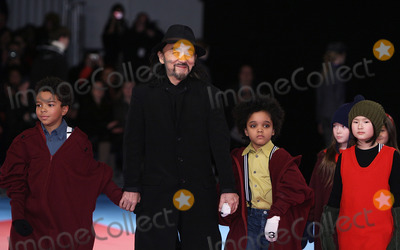 Yohji Yamamoto Photo - Designer Yohji Yamamoto pictured at the conclusion of the Y-3 fashion show at Pier 40 on February 15th 2009 in New York City Mercedes-Benz Fashion Week Fall 2009 Collection