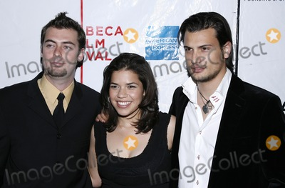 Antonio Negret Photo - (L-R) Antonio Negret America Ferrera and Roberto Urbina attend the screening of Toward Darkness during the Tribeca Film Festival on May 4 2007 in New York City