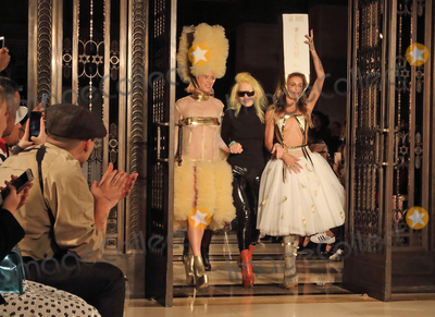 Alice Dellal Photo - London UK Roisin Murphy Pam Hogg and Alice Dellal on the Catwalk at the London Fashion Show (LFW) SS 2019 Pam Hogg show at Freemasons Hall London on Friday 14th September 2018   RefLMK73-S1751-150918 Keith MayhewLandmark Media WWWLMKMEDIACOM