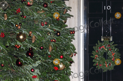 Photos From 10 Downing Street - Christmas lights switch on