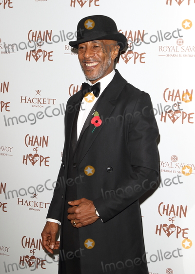Photo - London UK  Danny John-Jules at the Chain Of Hope Ball at Old Billingsgate Lower Thames Street London 16 November 2018 RefLMK73-S1930-171118Keith MayhewLandmark Media WWWLMKMEDIACOM