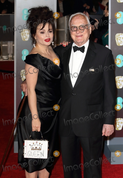 Photo - London UK Helena Bonham-Carter and James Ivory at EE British Academy Film Awards 2018 - Red Carpet Arrivals at the Royal Albert Hall London on Sunday February 18th 2018 Ref LMK73 -J1591-190218Keith MayhewLandmark Media WWWLMKMEDIACOM