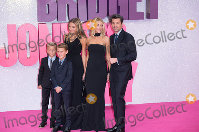 Photos And Pictures London Uk Patrick Dempsey With Wife Jillian