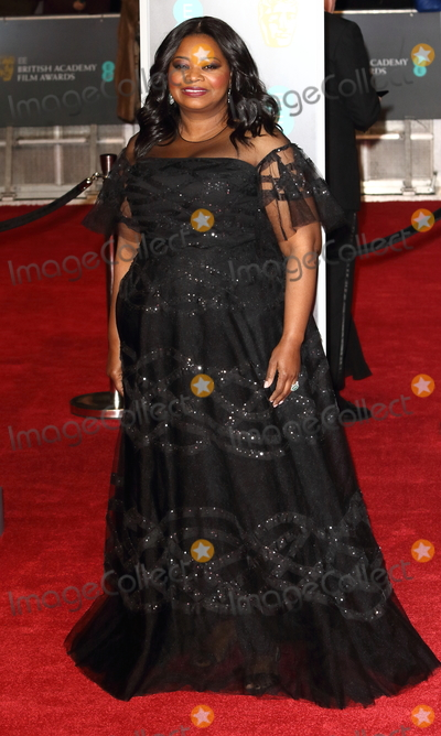 Photo - London UK Octavia Spencer at EE British Academy Film Awards 2018 - Red Carpet Arrivals at the Royal Albert Hall London on Sunday February 18th 2018 Ref LMK73 -J1591-190218Keith MayhewLandmark Media WWWLMKMEDIACOM