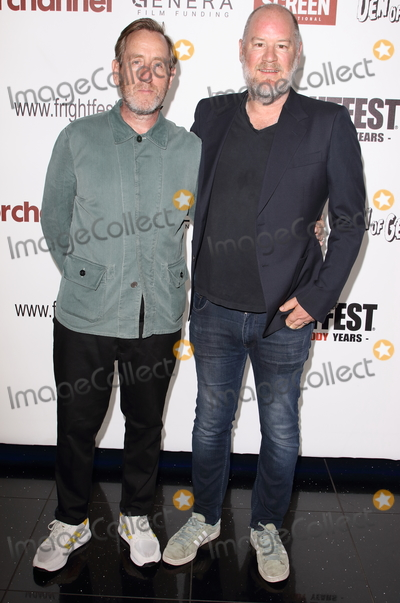 Ant Timpson Photo - LondonUK     Michael Smiley and Ant Timpson at  Come To Daddy screening -  FrightFest 2019 Opening Night at the Cineworld Empire 22nd August 2019 RefLMK73-S2755-230819Keith MayhewLandmark Media WWWLMKMEDIACOM