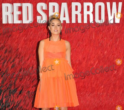 Nicole ONeill Photo - London UK Nicole ONeill at the Red Sparrow European film premiere Vue West End cinema Leicester Square London England UK on Monday 19 February 2018Ref LMK315-J1605-200218Can NguyenLandmark Media WWWLMKMEDIACOM