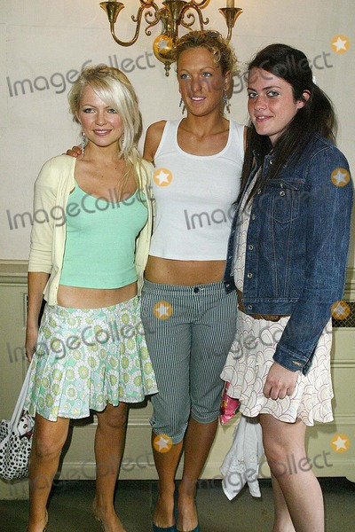 Alice Deen Photo - London Hannah Sandling Alice Deen and Emily Crompton at the MORGAN autumn winter 2004 catwalk show at the Banqueting House Whitehall20 May 2004JENNY ROBERTSLANDMARK MEDIA
