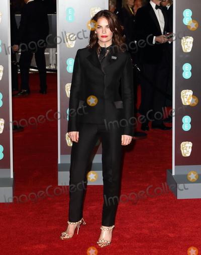 Photo - London UK Ruth Wilson at EE British Academy Film Awards 2018 - Red Carpet Arrivals at the Royal Albert Hall London on Sunday February 18th 2018 Ref LMK73 -J1591-190218Keith MayhewLandmark Media WWWLMKMEDIACOM
