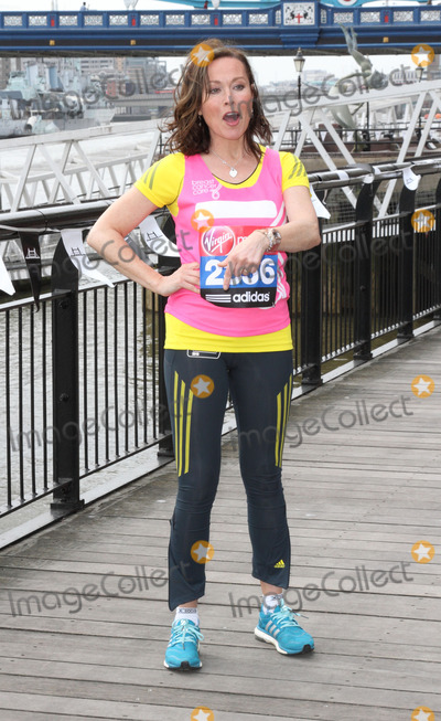 Amanda Mealing Photo - London UK   Amanda Mealing at the London Marathon 2013 Celebrities Photocall outside the Tower Hotel London 17th April  2013Keith MayhewLandmark Media