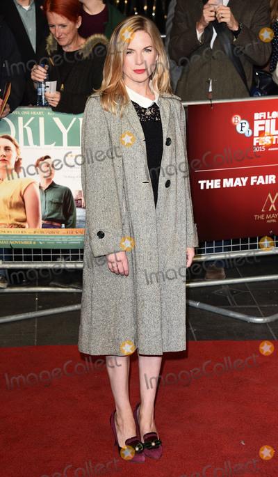 Eva Birthistle Photo - London UK Eva Birthistle at London Film Festival Gala Premiere of Brooklyn at Odeon Leicester Square London on Monday 12 October 2015 Ref LMK392-58359-131015Vivienne VincentLandmark Media WWWLMKMEDIACOM