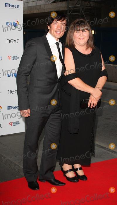 Adam Croasdell Photo - London UK Adam Croasdell and Cheryl Fergison at the Cystic Fibrosis Breathing Life Awards at the Hilton Metropole in London 28th May 2009Keith MayhewLandmark Media