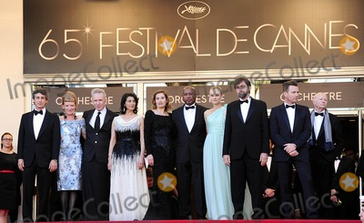 Nanni Moretti Photo - Cannes France Alexander Payne Andrea Arnold Jean-Paul Gautier Hiam Abbass Emmanuelle Devos Raoul Peck Diane Kruger President of the Jury Nanni Moretti and Ewan McGregor at the 65th Annual Cannes Film Festival of Moonrise Kingdom and the opening ceremony 16th May 2012SydLandmark Media