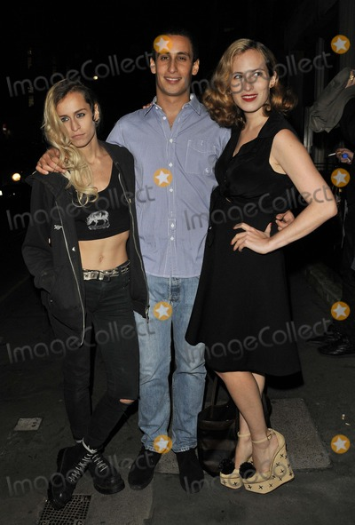 Alex Dellal Photo - London UK Alice Dellal Alex Dellal and Charlotte Dellal at the Hostage by Alex Hoda private view held at 20 Projects 11th October 2011Can NguyenLandmark Media