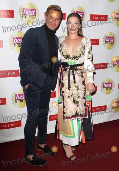 Photo - London UK Matt Evers and Candice Brown at The Best Heroes Awards 2019 at The Bloomsbury Hotel London on October 15th 2019Ref LMK73-J5617-161019Keith MayhewLandmark MediaWWWLMKMEDIACOM