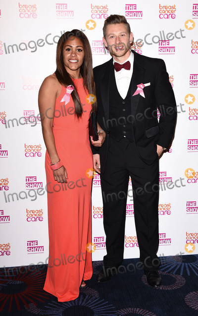 Alex Scott Photo - London UK Alex Scott and Adam Radford  at The Breast Cancer Care Fashion Show at Grosvenor House Park Lane London on Wednesday 7 October 2015Ref LMK392 -58339-081015Vivienne VincentLandmark Media WWWLMKMEDIACOM