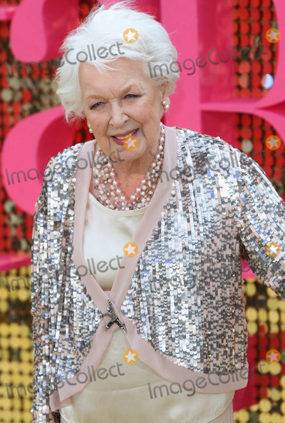 June Whitfield Photo - LondonUK  June Whitfield  at the Absolutely Fabulous The Movie  World Premiere at the Odeon Leicester Square 29th June 2016 RefLMK73-60777-300616 Keith MayhewLandmark Media WWWLMKMEDIACOM