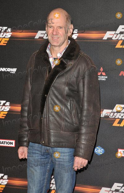 Adrian Newey Photo - LondonUK  Adrian Newey     at the Fast and Furious Live Global Premiere at the 02 Arena Peninsula Square 19th January 2018  RefLMK315-S1077-200118Can NguyenLandmark MediaWWWLMKMEDIACOM