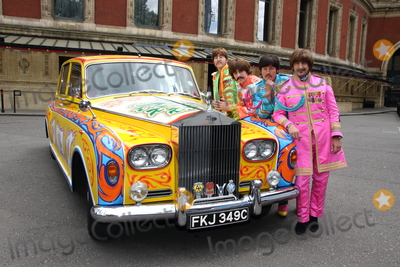 Photos and Pictures - London, UK  010617  The Bootleg Beatles with a