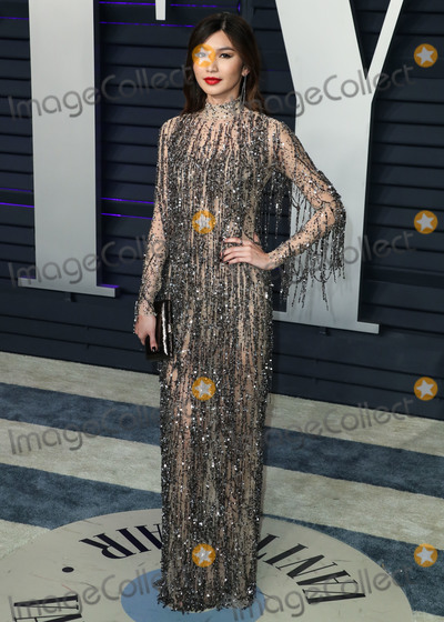 Gemma Chan Photo - BEVERLY HILLS LOS ANGELES CA USA - FEBRUARY 24 Actress Gemma Chan wearing a Tom Ford dress arrives at the 2019 Vanity Fair Oscar Party held at the Wallis Annenberg Center for the Performing Arts on February 24 2019 in Beverly Hills Los Angeles California United States (Photo by Xavier CollinImage Press Agency)