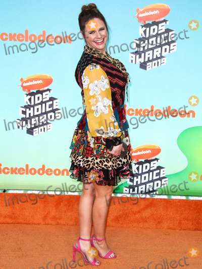 Andrea Barber Photo - LOS ANGELES CA USA - MARCH 23 Andrea Barber arrives at Nickelodeons 2019 Kids Choice Awards held at the USC Galen Center on March 23 2019 in Los Angeles California United States (Photo by Xavier CollinImage Press Agency)