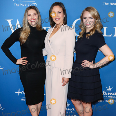Andrea Brooks Photo - BEVERLY HILLS LOS ANGELES CALIFORNIA USA - FEBRUARY 11 Pascale Hutton Erin Krakow and Andrea Brooks arrive at Hallmark Channels When Calls the Heart Season 7 Premiere Celebration held at the Beverly Wilshire A Four Seasons Hotel on February 11 2020 in Beverly Hills Los Angeles California United States (Photo by Xavier CollinImage Press Agency)