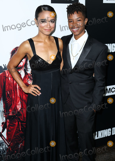Angel Theory Photo - LOS ANGELES CA USA - SEPTEMBER 27 Lauren Ridloff Angel Theory at the Los Angeles Premiere Of AMCs The Walking Dead Season 9 held at the Directors Guild of America Theater Complex on September 27 2018 in Los Angeles California United States (Photo by Xavier CollinImage Press Agency)
