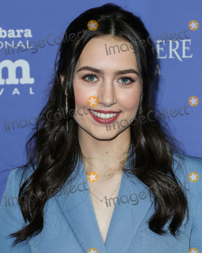 Photo - SANTA BARBARA LOS ANGELES CALIFORNIA USA - JANUARY 17 Actress Emma Fuhrmann arrives at the 35th Annual Santa Barbara International Film Festival - The Outstanding Performers Of The Year Award held at The Arlington Theatre (Metropolitan Theatres) on January 17 2020 in Santa Barbara Los Angeles California United States (Photo by Xavier CollinImage Press Agency)