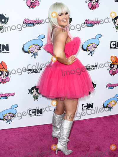 Ashlee Keating Photo - HOLLYWOOD LOS ANGELES CALIFORNIA USA - MARCH 08 Actress Ashlee Keating arrives at the 2020 Christian Cowan x Powerpuff Girls Runway Show Season II held at NeueHouse Los Angeles on March 8 2020 in Hollywood Los Angeles California United States (Photo by Xavier CollinImage Press Agency)