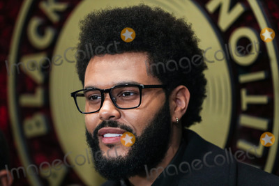 Photo - WEST HOLLYWOOD LOS ANGELES CALIFORNIA USA - SEPTEMBER 23 Singer The Weeknd (Abel Makkonen Tesfaye) arrives at the 1st Annual Black Music Action Coalitions Music in Action Awards held at the 1 Hotel West Hollywood on September 23 2021 in West Hollywood Los Angeles California United States (Photo by Xavier CollinImage Press Agency)