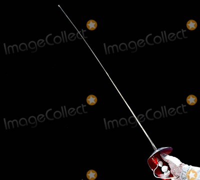 Aldo Montano Photo - Atehns Athens 2004 Olympic Games Fencing Aldo Montano 8202004 Photo Bymarco RosilapresseGlobe Photos Inc 2004 K38883 (Athens Sport - Screens Summer Olympic Games Athens 2004 - Sherma Sciabola Aldo Montano Un Dettaglio Della Sciabola)