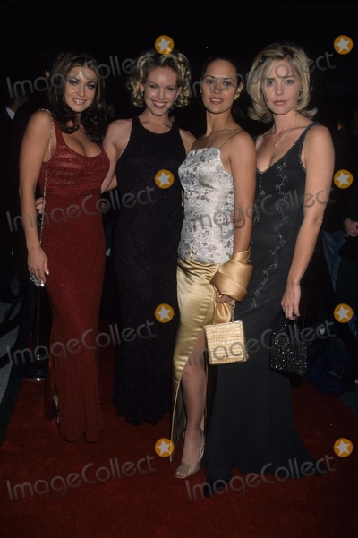 Cassidy Rae Photo - Carmen Electra with Cassidy Rae  Sydney Penny and Christina Moore K14454lr Wb Press Tour Party IL Fornaio Restaurant 1999 Photo by Lisa Rose-Globe Photos Inc