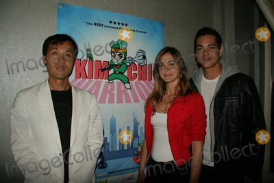 Alex Kudo Photo - Kimchi Warrior World Premiere Korean Cultural Center Los Angeles CA 05-05-2010 Young Man Kang-creator  Director Samantha Lockwood and Alex Kudo Photo Clinton H Wallace-ipol-Globe Photos Inc