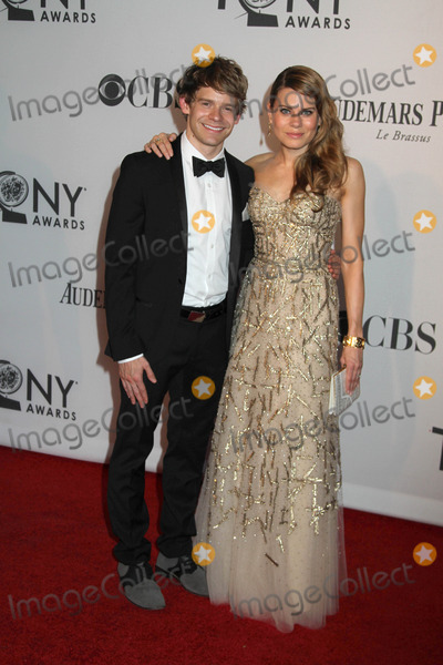 Andrew Keenan-Bolger Photo - The 66th Annual Tony Awards the Beacon Theater NYC June 10 2012 Photos by Sonia Moskowitz Globe Photos Inc Celia Keenan Bolger Andrew Keenan Bolger