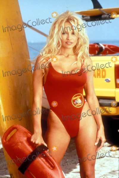 Photo - Pamela Anderson of Baywatch K6146ll Supplied by Globe Photos Inc Tv Stills