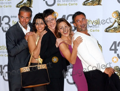 Adeline Blondieau Photo - K3157443RD ANNUAL TELEVISION FESTIVAL PREMIERE OF THE DANGEROUS LIASONS TV MOVIE AT THE MONTE CARLO GRIMALDI FORUM07022003PHOTO MARCO PIOVANOTTO  WORLD MEDIA PRESSLAPRESSE GLOBE PHOTOS INC  2003DAVID BRECOURT SHERLY BOUSQUET BENEDICTE FREDERIC DEBAN AND ADELINE BLONDIEAU