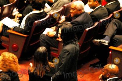 Photo - Funeral of Johnnie L Cochran Jr