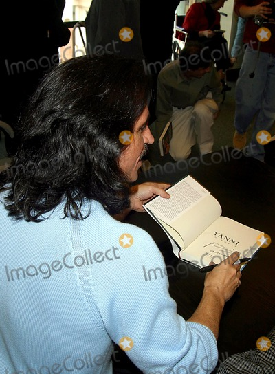 Photos And Pictures Sd 02 14 2003 New Age Composer Yanni Signs His